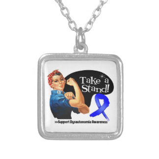 Dysautonomia Awareness Take a Stand Necklace
