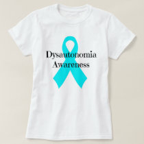 """Dysautonomia Awareness"" tee"