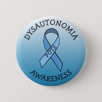 Dysautonomia Blue Awareness Ribbon Pin