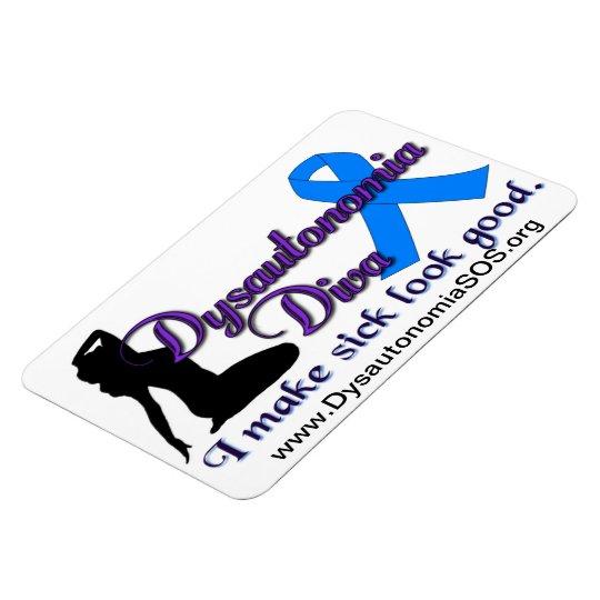 Dysautonomia Diva Magnet