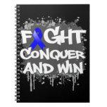 Dysautonomia Fight Conquer and Win Notebooks