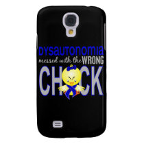 Dysautonomia Messed With Wrong Chick Galaxy S4 Case