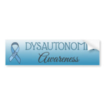 Dysautonomia POTS Awareness Ribbon Bumper Sticker