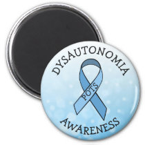 Dysautonomia POTS Awareness Ribbon Magnet