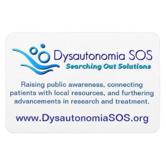 Dysautonomia SOS Magnet
