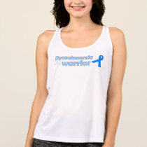 Dysautonomia Warrior on White Tank Top