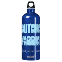 Dysautonomia Warrior (personalized) Aluminum Water Bottle