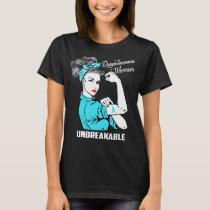 Dysautonomia Warrior Unbreakable T-Shirt