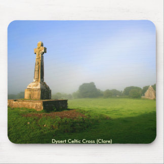 Dysert o Dea celtic cross Mouse Pad