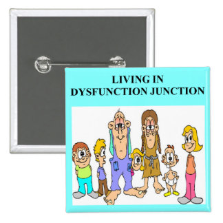 dysfunction hunction pinback button