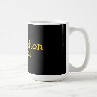 dysfunction is relative classic white coffee mug