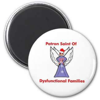 Dysfunctional Families Angel 2 Inch Round Magnet