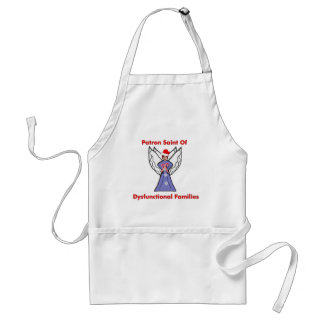 Dysfunctional Families Angel Adult Apron