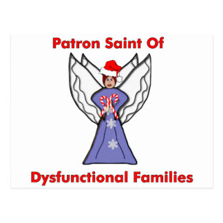 Dysfunctional Families Angel Postcard
