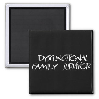 Dysfunctional Family 2 Inch Square Magnet