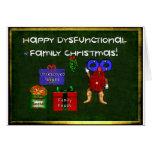Dysfunctional Family Christmas Card