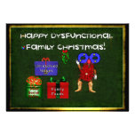 Dysfunctional Family Christmas Custom Invitation