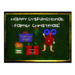 Dysfunctional Family Christmas Post Card