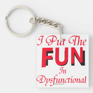 Dysfunctional Keychain