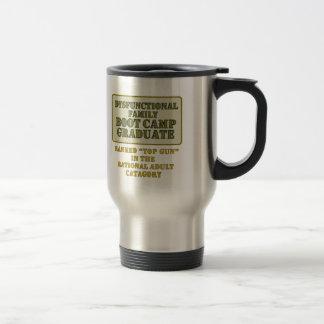 Dysfunctional Stainless Steel Travel Mug