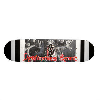 "Dyskfunctional Records ""bones"" Skateboard"