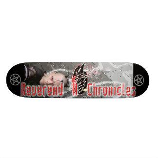 "Dyskfunctional Records ""rev h murder"" Skateboard"