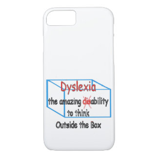 Dyslexia,  ability not disability! iPhone 8/7 case