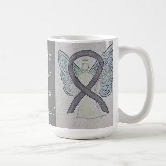 Dyslexia Awareness Ribbon Angel Custom Mug