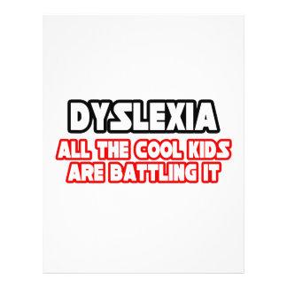 Dyslexia...Cool Kids Custom Flyer