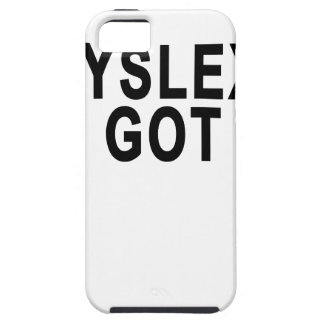 DYSLEXIA GOT.png iPhone SE/5/5s Case