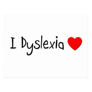 Dyslexia Humor Postcard