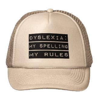 Dyslexia: My Spelling My Rules (Dyslexic) Trucker Hat