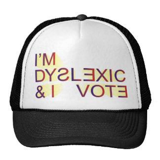 dyslexia-vote mesh hat