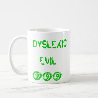 DYSLEXIC EVIL 999 MUG