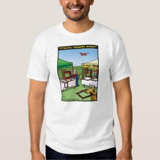 """Dyslexic Farmers Market"" Shirts"