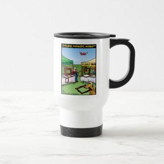 """Dyslexic Farmers Market"" Travel Mug"