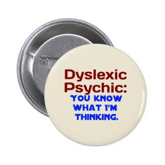 Dyslexic Psychic Button