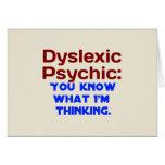 Dyslexic Psychic Cards