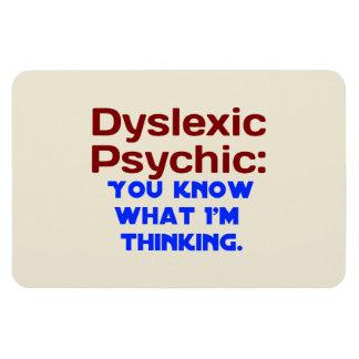 Dyslexic Psychic Magnet