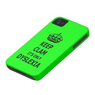 Dyslexic slogan iPhone 4 case