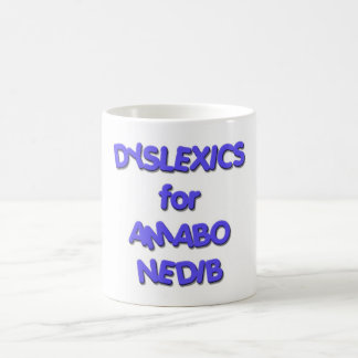 Dyslexics for Obama Biden - Amabo Nedib Coffee Mug