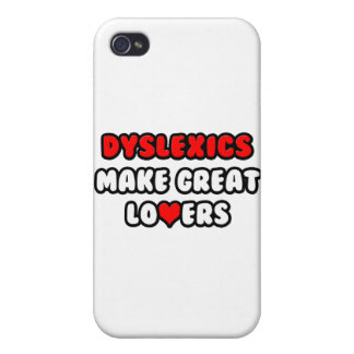 Dyslexics Make Great Lovers Covers For iPhone 4