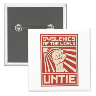 Dyslexics of the World UNTIE Pins