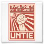 Dyslexics of the World UNTIE Photo Art