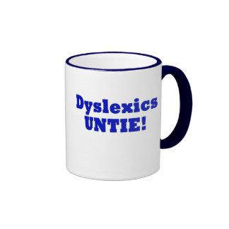 Dyslexics Ringer Mug
