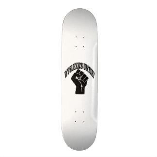 Dyslexics Untie Skateboard
