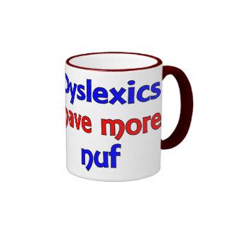 Dyslexics - w ringer mug
