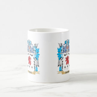 Dyson Coat of Arms - Family Crest Classic White Coffee Mug