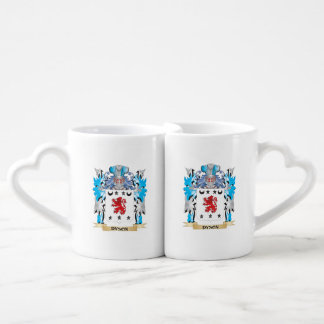 Dyson Coat of Arms - Family Crest Couples' Coffee Mug Set