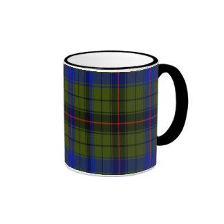 Dyson Scottish Tartan Ringer Coffee Mug